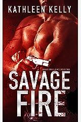 Savage Fire : Motorcycle Club Romance (Savage Angels MC Book 2) Kindle Edition