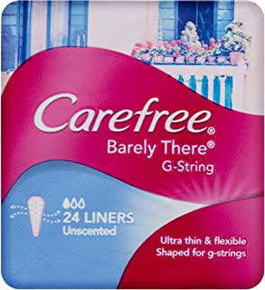 Carefree Barely There Liners G-String 24