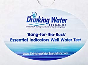 'Bang-for-the-Buck' Essential Indicators Well Water Test | Well Water Test Kit | Bacteria, Metals, Inorganics, Volatile Organic Compounds