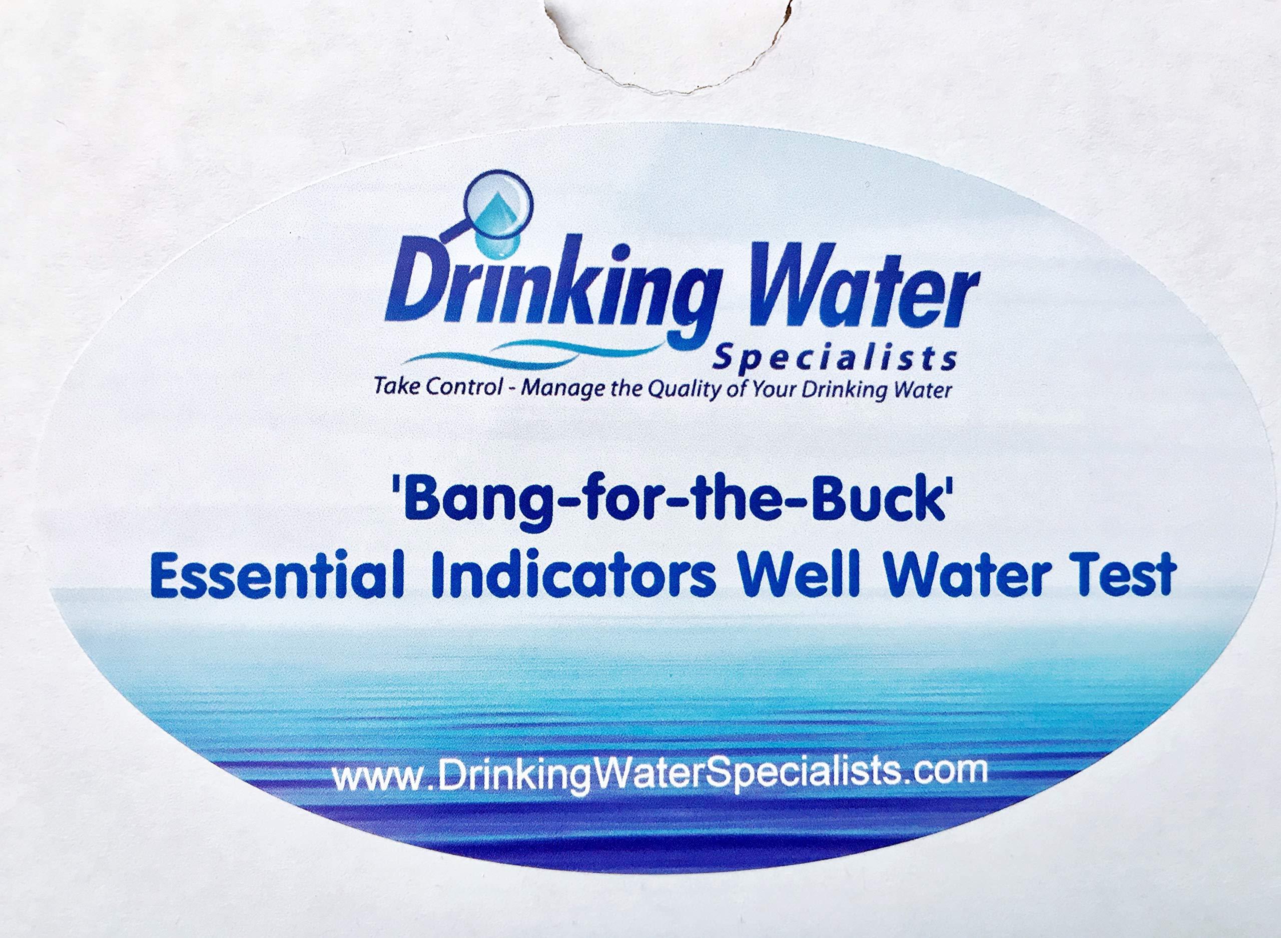 Essential Indicators Water Inorganics Compounds