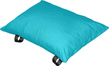Vivere Polyester Hammock Pillow, True Turquoise