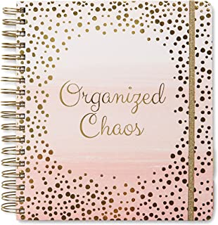 2021 Organized Chaos, 13 Month Daily Planners/Calendars: Janauary 2021-January 2022; Planners with Monthly, Weekly and Dai...