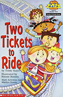 Two Tickets to Ride (Hello Reader! Math, Level 3) Grades 1 & 2