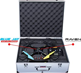 Force1 UDI U45W Drone Carrying Case - Hard Drone Case Accessories Pack for Carrying a U45W Blue Jay Wi-Fi Drone Quadcopter