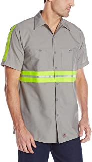 SP24EL Enhanced Visibility Industrial Work Shirt Long Sizes