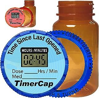 pill bottle size chart