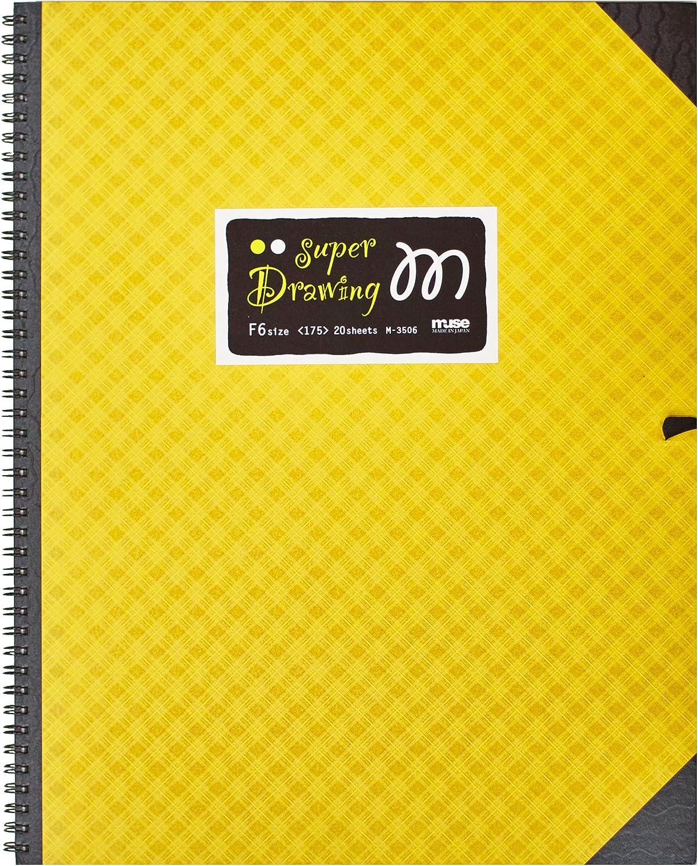 Muse Zeichenpapier Super-M Bilderbuch F6 211g weiß 20 20 20 Blatt M-3506 gelb F6 B00LTC63JA | Up-to-date Styling  e5d6d6