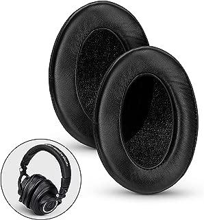 Brainwavz Sheepskin Leather Angled Memory Foam Earpad - Suitable for Large Over The Ear Headphones - AKG, HifiMan, ATH, Philips, Fostex