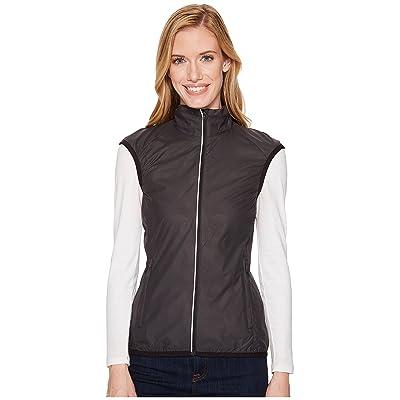 Icebreaker Rush Vest Folds (Black/Embossed) Women