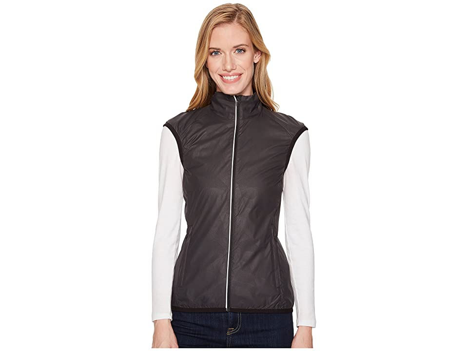 Icebreaker Rush Vest Folds (Black/Embossed) Women