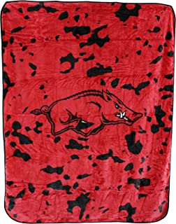 College Covers NCAA Arkansas Razorbacks Throw Blanket/Bedspread