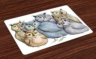 Best vintage owl fabric Reviews