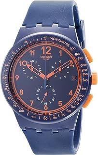 Swatch Men's STSUSN401 Originals Rebirth Blue Analog Display Quartz Blue Watch