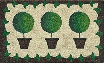 Verdemax 5463 45 x 75 cm Rectangular Potted Plants Doormat