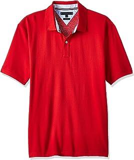 قميص بولو للرجال بقصة عادية من تومي هيلفجر