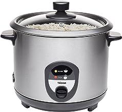 Tristar Szybkowar do ryżu, 1,5 l, ryż dla maksymalnie 10 osób bez przypalania, z funkcją utrzymania ciepła, 500 W, czarny,...