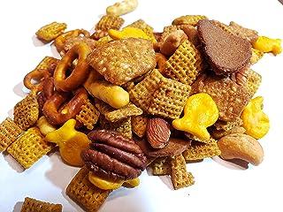 Triple-Nut Captain's Trail Mix - Bolder Chex Mix Snack Flavor w/ Cashews, Smokey Almonds, Pecans - 13.5oz