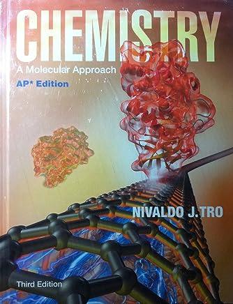 PEARSON AP Chemistry: A Molecular Approach, 2014, Student Edition, AP Edition, 3rd Edition, by Nivaldo J.Tron - w/ MasteringChemistry w/ eText + Test Prep Workbook 6yr Lic