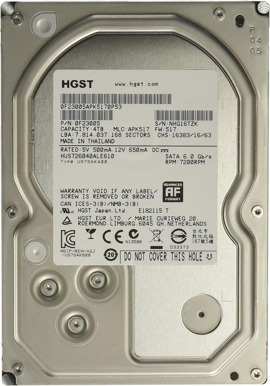 a Western Digital Company Ultrastar 7K6000 6000GB 7200RPM SAS 4KN Ultra SE 128MB Cache 3.5-Inch Internal Bare or OEM Drives 0F22810 HGST
