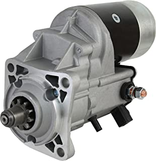 NEW 12V CW 10 TOOTH 2.7kW STARTER MOTOR COMPATIBLE WITH ASV SCAT TRACK PERKINS ENGINE MP10237