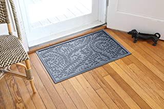 Bungalow Flooring Waterhog Door Mat, 2' x 3' Made in USA, Durable and Decorative Floor Covering, Skid Resistant, Indoor/Ou...