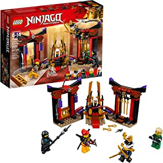 LEGO NINJAGO Masters of Spinjitzu: Throne Room Showdown 70651 Building Kit (221 Pieces)