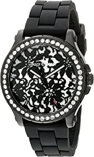Juicy Couture Women's 1901300 Hollywood Analog Display Quartz Black Watch