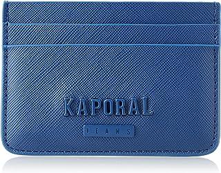 Kaporal Clemo - Tarjetero para Hombre, Azul Newblu, Talla única, Clásico