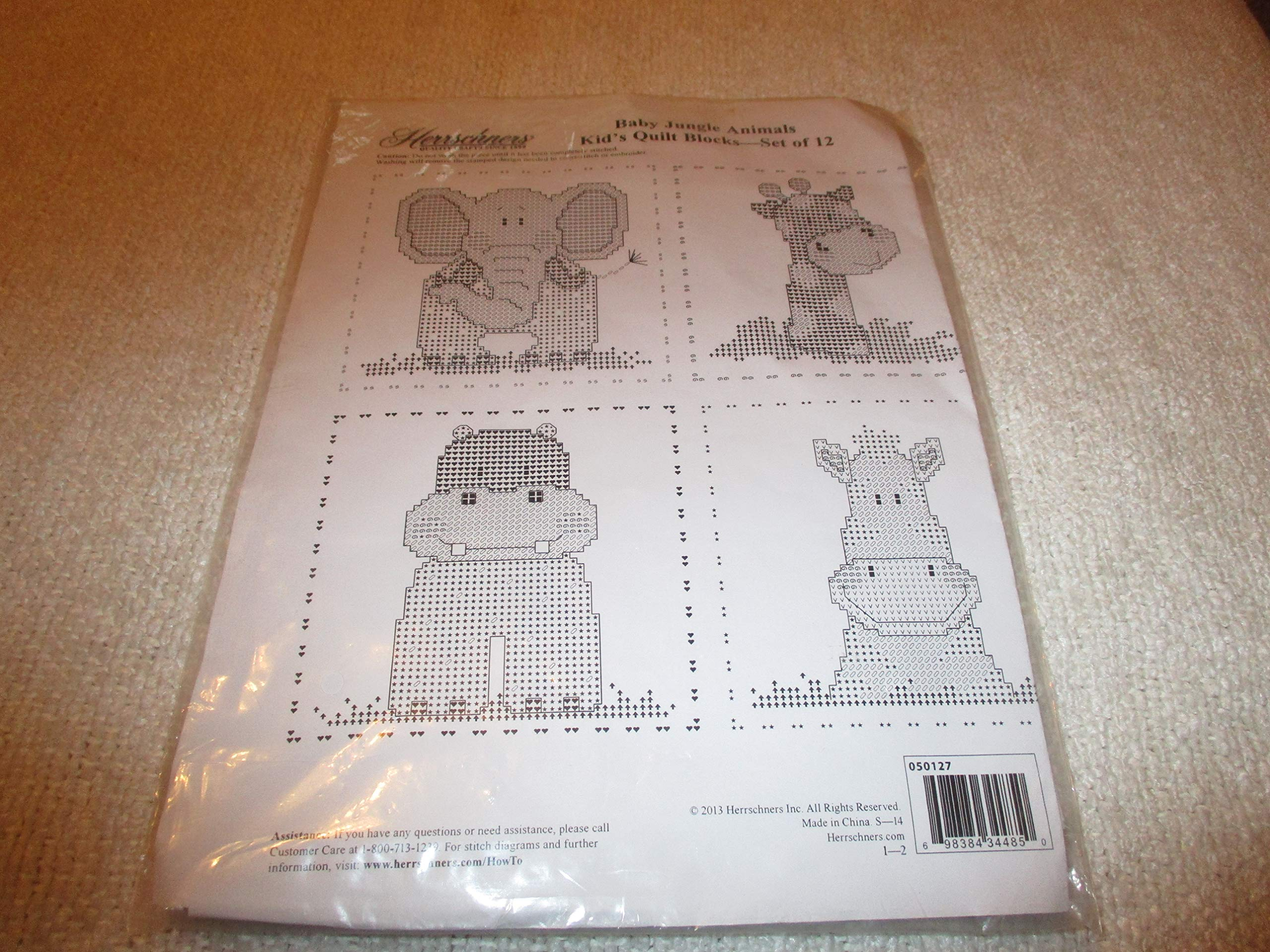 Baby Jungle Animals Quilt Pattern Sewing Patterns For Baby