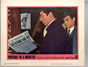 MOVIE POSTER: Portrait Of A Mobster-Vic Morrow-Leslie Parrish-11x14-Color-Lobby Card