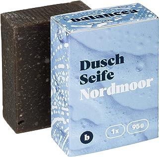BALANCEA Seife Nordmoor/Haarseife Naturseife Duschseife / 1er Pack 1 x 95 g