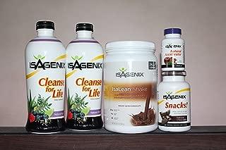 Isagenix 9 Day Chocolate Flavor w/Cleanse Liquid