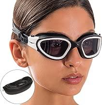 AqtivAqua Wide View Swim Goggles // Swim Workouts - Open Water // Indoor - Outdoor Line