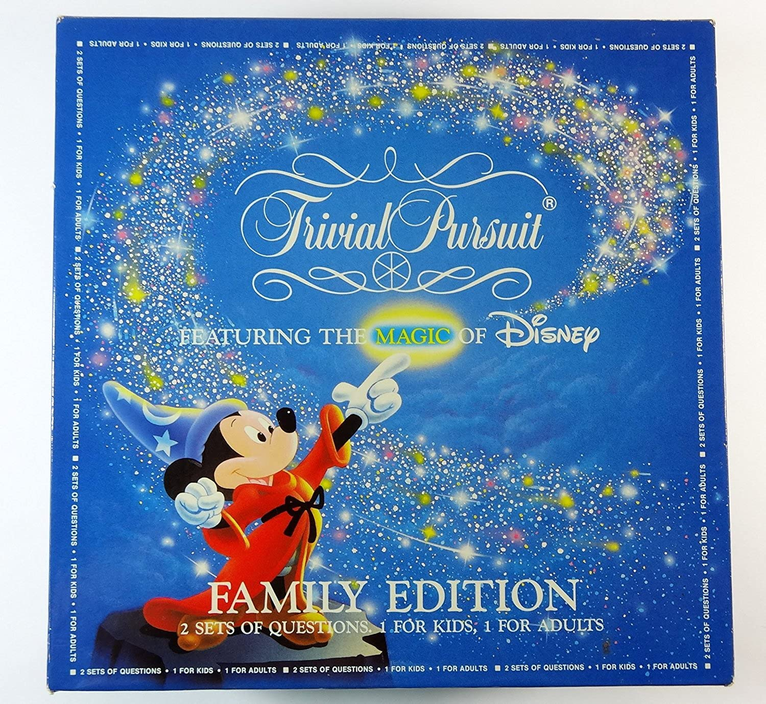 Trivial Pursuit Featuring The MAGIC Of Disney Family Edition