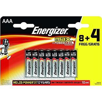 Energizer 509135 - Pack de Pilas AAA (12 Unidades): Amazon.es ...