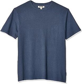Amazon Brand - Goodthreads Men's Linen Cotton Crewneck...
