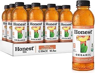 Sponsored Ad - Honest tea Organic Fair Trade Peach Oolong Tea, 16.9 fl oz (12 Pack)