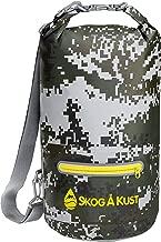 Skog Å Kust DrySåk Waterproof Floating Dry Bag with Exterior Zippered Pocket | for Kayaking, Rafting, Boating, Swimming, Camping, Hiking, Beach, Fishing | 10L & 20L Sizes