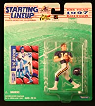 Starting Lineup Brad Johnson / Minnesota Vikings 1997 NFL Action Figure & Exclusive NFL Collector Trading Card