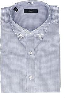 Fay Luxury Fashion Mens NCMA1372580C52U601 Blue Shirt | Season Permanent