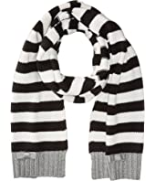 Kate Spade New York - Bold Stripe with Metallic Tipping Muffler