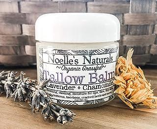 Organic Tallow Balm - 2oz Jar - Lavender Chamomile