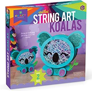 Best Craft-tastic – Stacked String Art Koalas – Craft Kit Makes 2 Cute Koalas Reviews