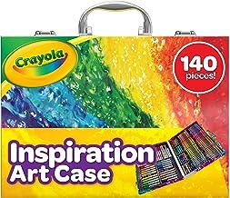 هنر Creeola الهام بخش هنر: 140 قطعه، مجموعه هنر، هدایا برای کودکان، سن 4، 5، 6،