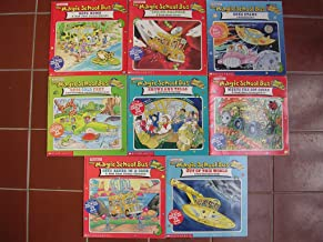 Magic School Bus Box Set of 8 ; Archaeology, Inside Ralphie - Germs, Out of this World, Baked in a Cake, Rot Squad, Sees Stars, Hops Home, Cold Feet