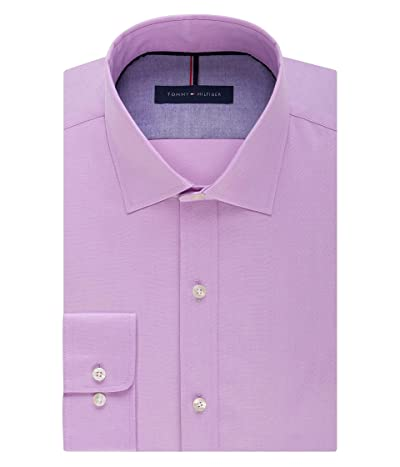Tommy Hilfiger Dress Shirt Slim Fit Non Iron Solid