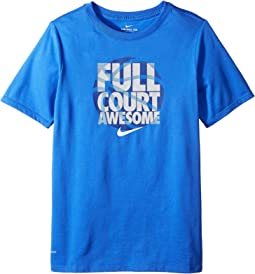 Nike Kids Dry Full Court Awesome Basketball Tee (Little Kids/Big Kids)