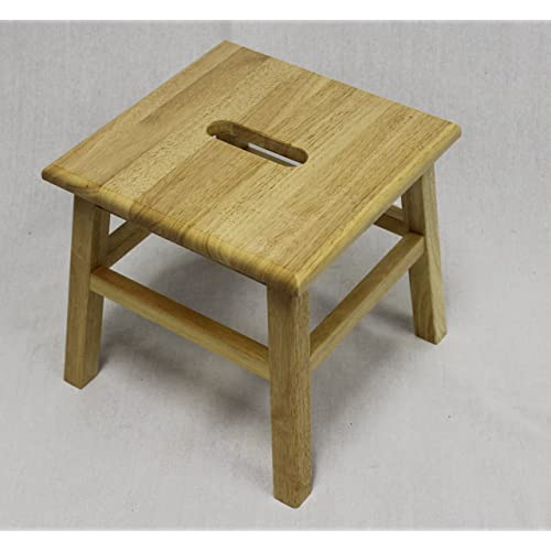 Peachy Small Wood Stool Amazon Com Forskolin Free Trial Chair Design Images Forskolin Free Trialorg
