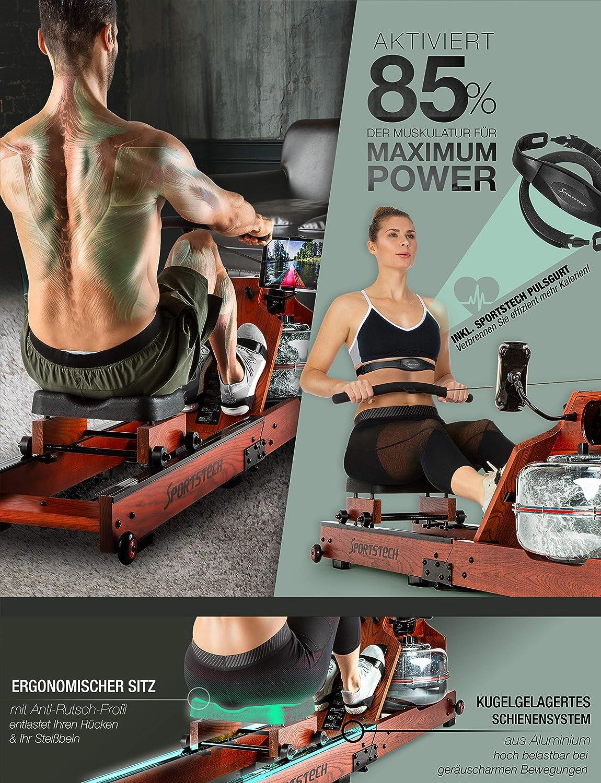Sportstech WRX700 - beanspruchte Muskulatur