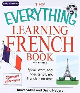 Everything Learning French: Speak, Write, and Understand Basic French in No Time!